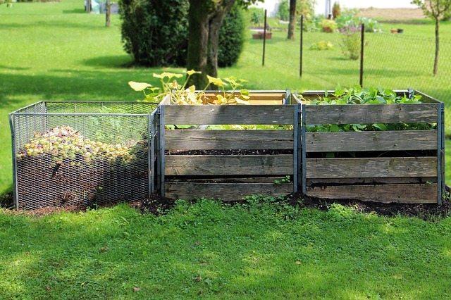 compost, garden, waste