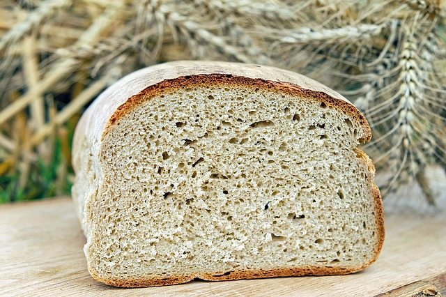 bread, farmer's bread, baked goods